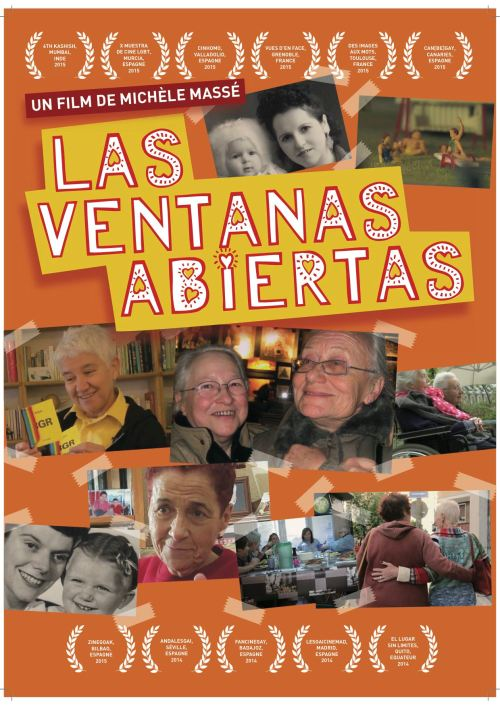 Affiche LAS VENTANAS ABIERTAS FR