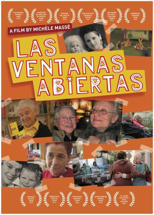 Affiche LAS VENTANAS ABIERTAS GB
