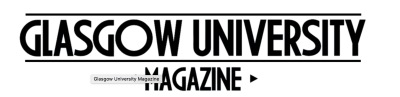 Glasgow university magazine